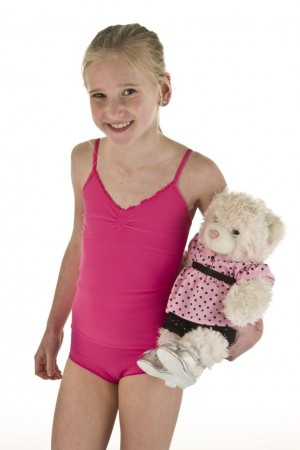 Level 1 Junior Jente Singlet Rosa